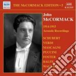 Edition vol.5: the acoustic recordings ( cd musicale di John Mccormack