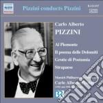 Carlo Alberto Pizzini - Al Piemonte, Poema Delle Dolomiti, Grotte Di Postumia, Strapaese cd musicale di Pizzini carlo albert