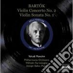 Bartok Bela - Concerto Per Violino N.2 , Sonata Per Violino N.1 cd musicale di Bela Bartok