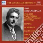 Victor Talking Machine Company Recordinggs 1920-1923 cd musicale di Miscellanee