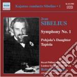 Sibelius Jean - Kajanus Dirige Sibelius, Vol.1: Sinfonia N.1 Op.39, La Figlia Di Pohjola Op.49 cd musicale di Jean Sibelius