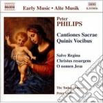 Philips Peter - Mottetti, Cantiones Sacrae Quinis Vocibus cd musicale di Peter Philips
