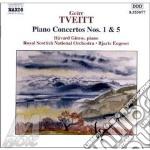 Tveitt Geirr - Concerto X Pf N.1 Op.1, N.5 Op.156 cd musicale di TVEITT