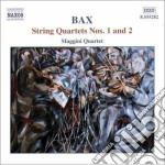 Bax Arnold - Quartetto Per Archi N.1, N.2 cd musicale di Arnold Bax