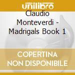 Madrigali (libro i), brani profani manos cd musicale di MONTEVERDI