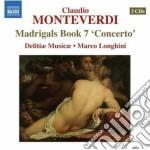 Madrigali, libro settimo cd musicale di Claudio Monteverdi