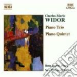 Widor Charles-marie - Quintetto Con Pianoforte Op.7, Trio Op.19 cd musicale di Charles-marie Widor