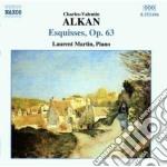 Alkan Charles Valentin - Opere Per Pianoforte, Vol.2: Esquisses Op.93 cd musicale di Alkan charles valent