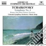 Sinfonia n.4 op.36, romeo e giulietta (v cd musicale di Ciaikovski pyotr il'
