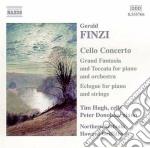 Gerald Finzi - Concerto X Vlc Op.40, Eclogue X Pf E Archi, Grand Fantasia E Toccata Op.38 cd musicale di Gerald Finzi