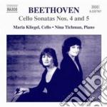 Beethoven Ludwig Van - Sonata Per Violoncello N.4, N.5  12 Variazioni Woo 45, Duetto Woo 32 cd musicale di Beethoven ludwig van