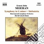 Moeran Ernest John - Sinfonia In Sol Minore, Sinfonietta cd musicale di Moeran ernest john