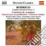 Opere per orchestra (integrale), vol.2 cd musicale di JoaquÍn Rodrigo