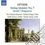 Spohr Louis - Quartetto Per Archi N.7, Sestetto Op.140, Potpourri cd musicale di Louis Spohr