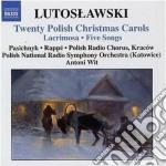 20 arie natalizie polacche (twenty polis cd musicale di Witold Lutoslawski