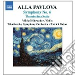 Pavlova Alla - Sinfonia N.6, Tumbelina Suite cd musicale di Alla Pavlova