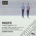 12 sonate per pianoforte cd musicale di Neefe christian got