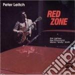 Red zone cd musicale di Leitch Peter