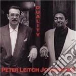 Peter Leitch & John Hicks - Duality cd musicale di Peter leitch & john hicks