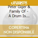 A drum is a woman cd musicale di Peter Giger
