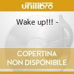 Wake up!!! - cd musicale di Bryang konig & stanback blues
