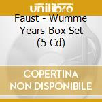 WUMME YEARS BOX SET                       cd musicale di FAUST