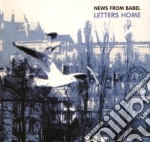 News From Babel - Letters Home cd musicale di NEWS FROM BABEL