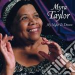 My night to dream cd musicale di Myra taylor (sacd)