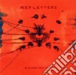 Edward Ka-spel - Red Letters cd musicale di Edward Ka-spel
