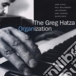 Organization - cd musicale di Greg hatza (hammond b3)
