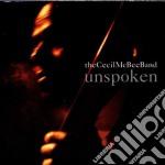 Unspoken - mcbee cecil cd musicale di Cecil mcbee band