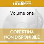 Volume one cd musicale di Sleep