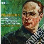 Prokofiev Sergei - Sinfonia N.5 Op.100, Sinfonia N.6 Op.111 cd musicale di Sergei Prokofiev