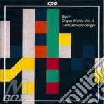Complete organ works 4 cd musicale di Bach