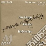 The works for piano 6 cd musicale di John Cage