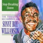 Stop breaking down cd musicale di Williamson sonny boy