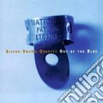 Alison Brown Quartet - Out Of The Blue cd musicale di Alison brown quartet