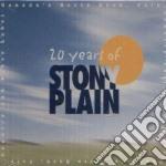 20 Years Of Stony Plain cd musicale di Bro D.robillard/s.earle/holmes