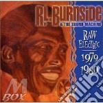 Raw electric 79/80 cd musicale di R.l. Burnside