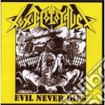 Evil never dies cd musicale di Holocaust Toxic