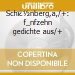Sch�nberg,a,/+: f_nfzehn gedichte aus/+ cd musicale