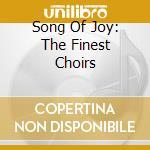 Dresdner Kreuzchor - Song Of Joy cd musicale di Artisti Vari