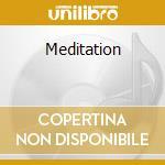Meditation cd musicale di ARTISTI VARI