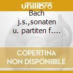 Bach j.s.,sonaten u. partiten f. violine cd musicale di K. Suske