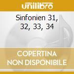 SINFONIEN  31, 32, 33, 34 cd musicale di Artisti Vari