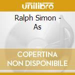 As - cd musicale di Simon Ralph