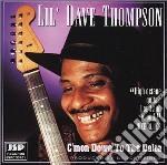 Lil' Dave Thompson - C'mon Down To The Delta cd musicale di Lil' dave thompson