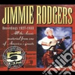 Classic record.1927-1933 cd musicale di Jimmie rodgers (5 cd