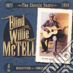 1927-1940 classic years cd musicale di Blind willie mctell