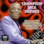 Live - dupree champion jack cd musicale di Champion jack dupree